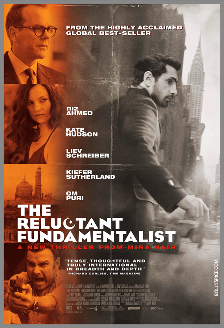 13feb reluctant poster The Reluctant Fundamentalist Trailer and Poster