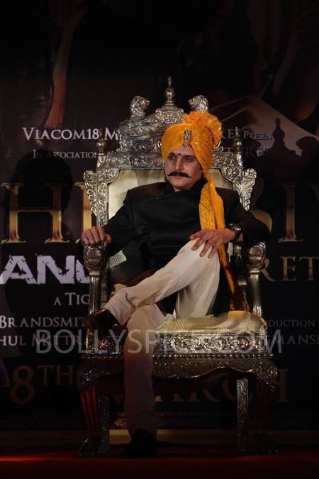 13feb sahebreturns 14 Saheb Biwi Aur Ganster Returns launched in royal style
