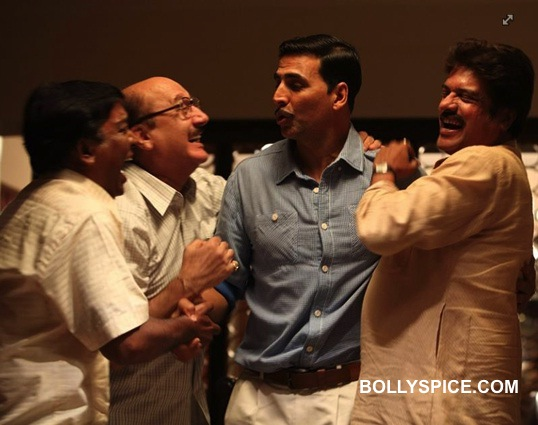 Aksahy Kumar and Anupam Kher 1 Akshay Kumar: When I first read the script of Special Chabbis, I was totally bowled over!