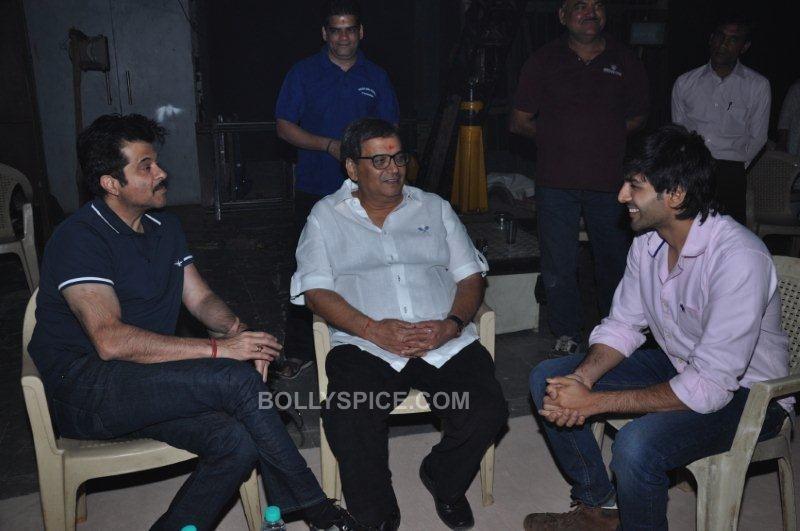 Anil Kapoor, Subhash Ghai, Kartik Tiwari