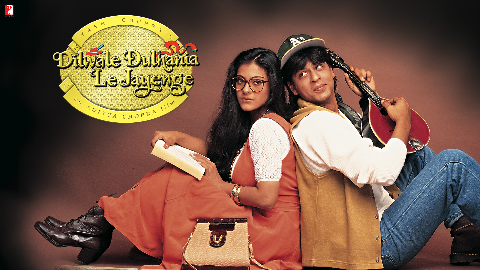 Dilwale Dulhania Le Jayenge Poster Landscape Shah Rukh Khan and Kajol voted most romantic Bollywood couple in new poll
