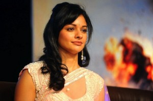 Pooja Kumarjpg 300x199 Telugu actress Pooja kumar latest hot photos in saree at viswaroopam movie audio release