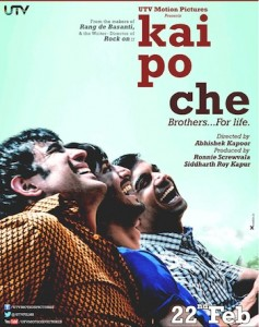 kpcreview 237x300 Kai Po Che Movie Review
