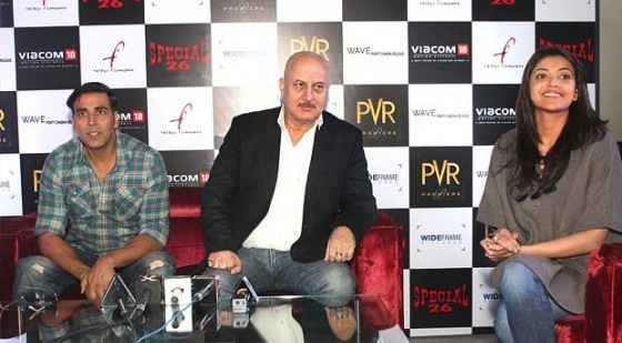 special chabbis press meet Special Report: Press Conference of Special 26 in New Delhi