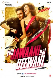 yjhdposter 207x300 Yeh Jawaani Hai Deewani rakes in $ 3.9 million overseas in opening weekend!
