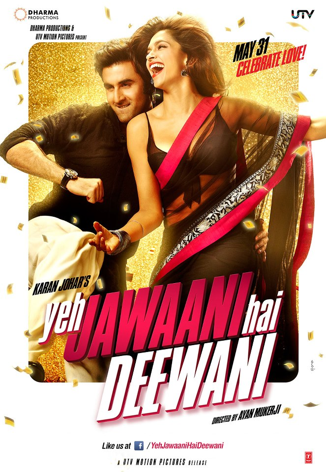 yjhdposter First Look: Deepika with Ranbir in Yeh Jawaani Hai Deewani x2!
