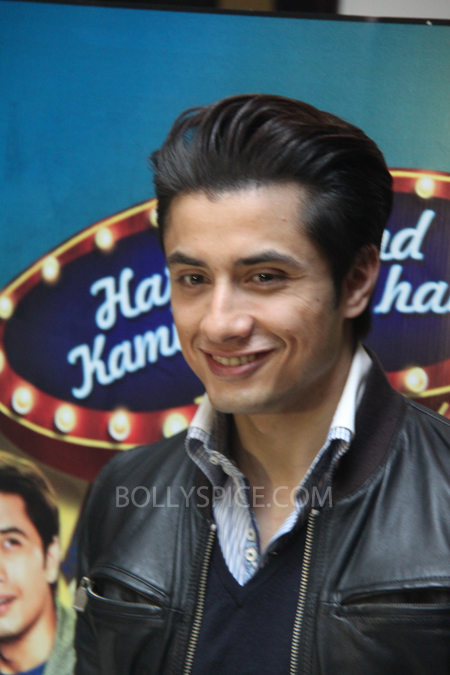 13mar alizafar 01 Ali Zafar talks about Chashme Baddoor and more at a London Press Conference