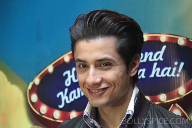 13mar alizafar 02 Ali Zafar talks about Chashme Baddoor and more at a London Press Conference