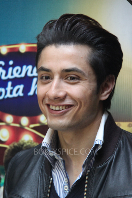 13mar alizafar 04 Ali Zafar talks about Chashme Baddoor and more at a London Press Conference