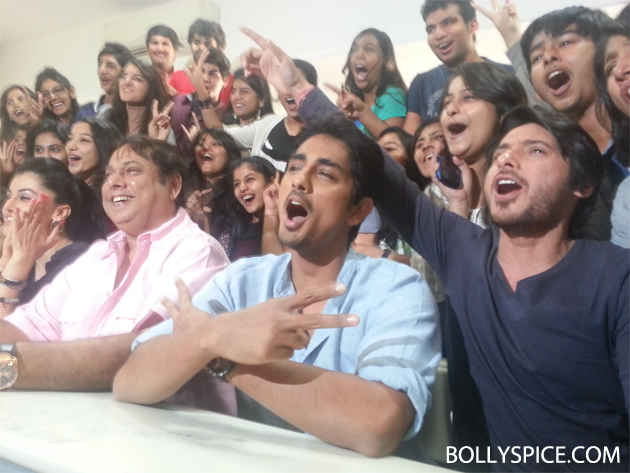 13mar chasme 05 Chashme Baddoor visits suburban college to wish students 'All The Best'