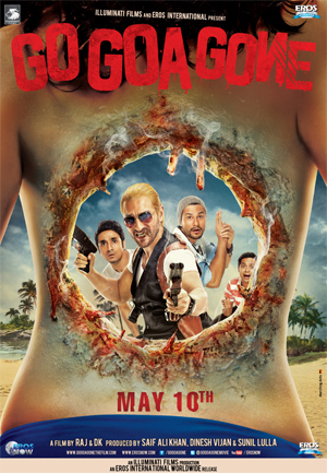 13mar gogoagone poster Saif to play the first Indian zombie hunter in Go Goa Gone