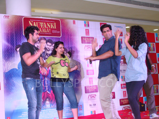 13mar nautankilaunch 07 Nautanki Saala Music Launch