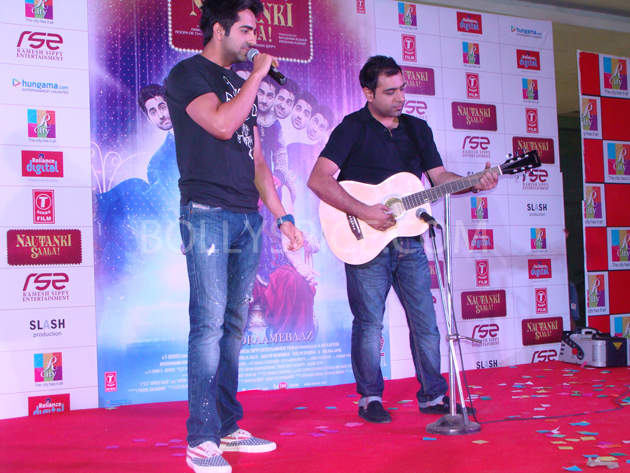 13mar nautankilaunch 10 Nautanki Saala Music Launch