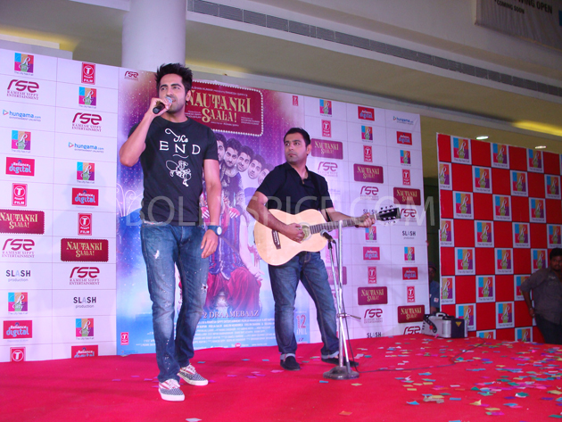 13mar nautankilaunch 11 Nautanki Saala Music Launch