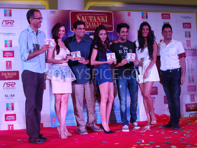 13mar nautankilaunch 30 Nautanki Saala Music Launch
