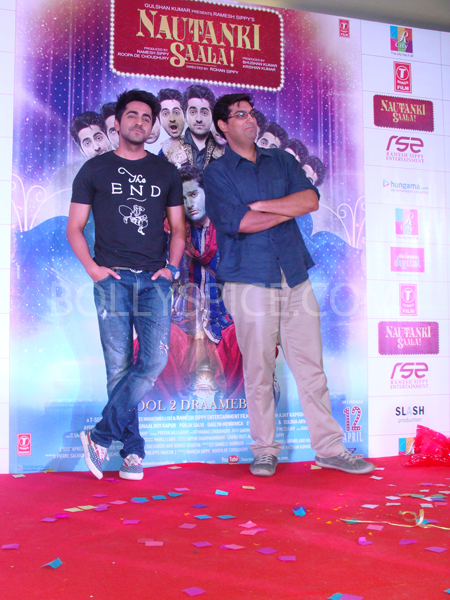 13mar nautankilaunch 36 Nautanki Saala Music Launch