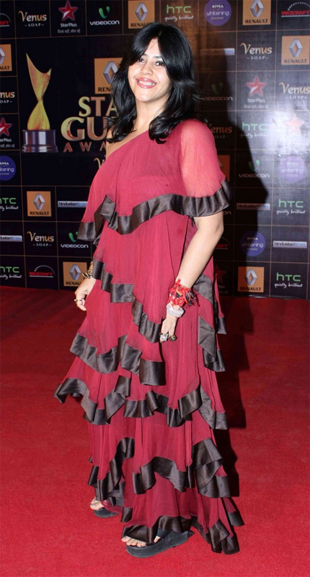 13mar whwnstarguild ekta Whos Hot Whos Not   Star Guild Awards