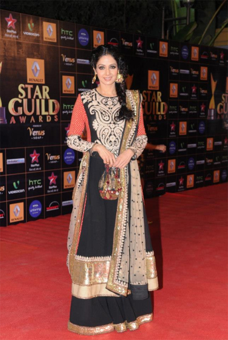13mar whwnstarguild sridevi Whos Hot Whos Not   Star Guild Awards