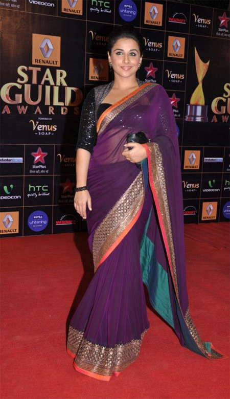 13mar whwnstarguild vidya Whos Hot Whos Not   Star Guild Awards