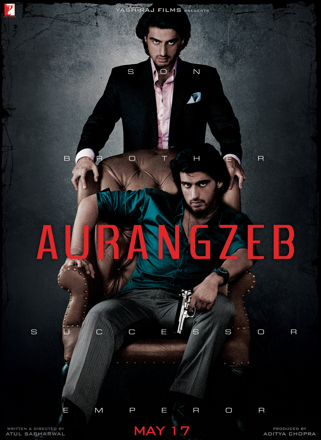Poster 1 First Look:  Aurangzeb