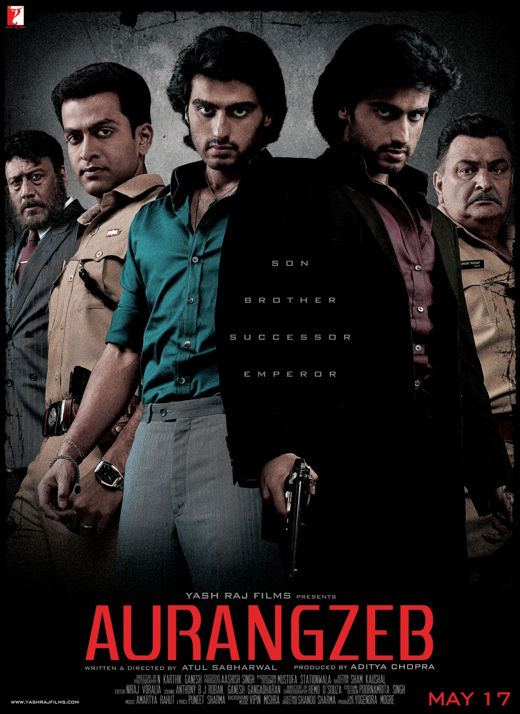Poster 2 First Look:  Aurangzeb