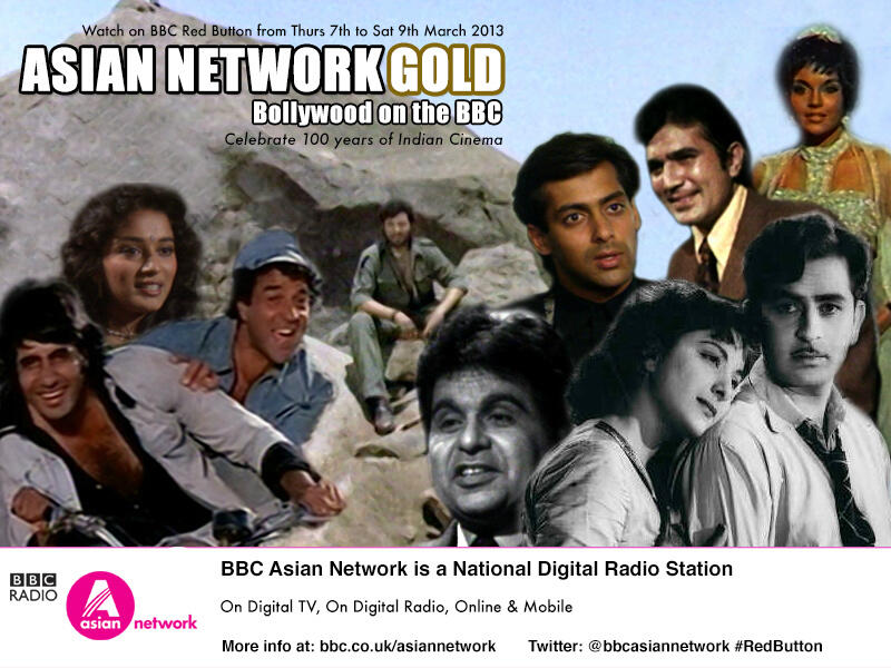 BBC RED BUTTON and BBC Asian Network Celebrates 100 Years in Indian Cinema!