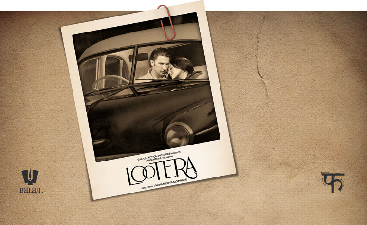 lootera Ranveera and Sonakshis Lootera to get Unique First Look!