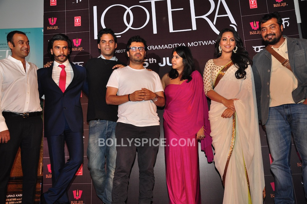 looteralaunch01 In Pictures: Ranveer and Sonakshi at Looteras Trailer Launch!