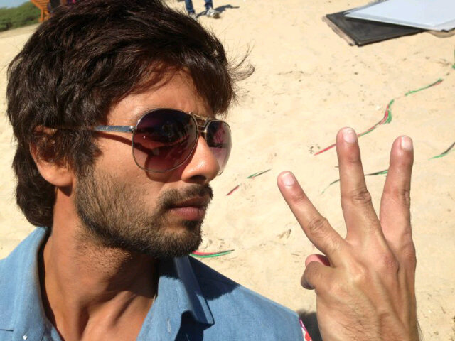 In Pictures: More from the sets of Rambo Rajkumar by Shahid and Prabhu Deva!