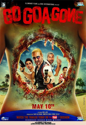 11apr gogoagonemusic Go Goa Gone Movie Review