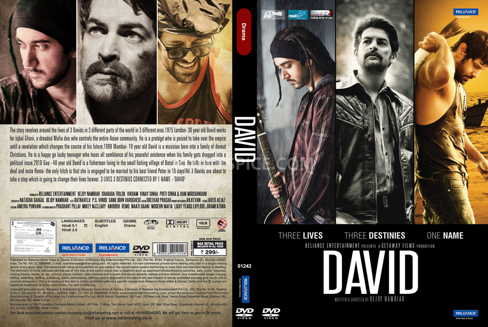 13apr David DVDRelease Reliance Home Video & Games releases DAVID on DVD & VCD