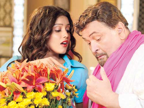13apr kaanchi1 Mishti hesitant to do a scene with Rishi Kapoor