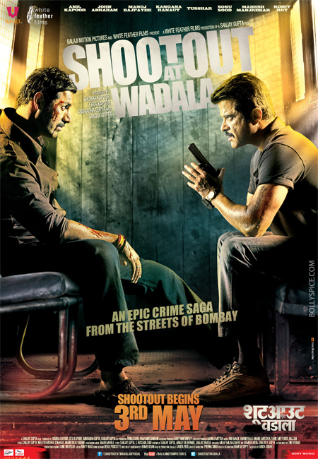 13apr shootoutposter 01 Shootout at Wadala Music Review
