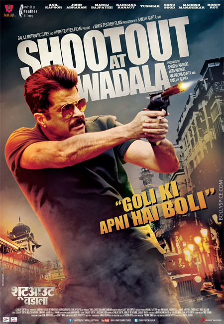 13apr shootoutposter 02 Shootout At Wadala Movie Review
