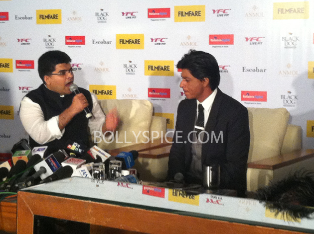 13apr srkfflaunch 24 Shah Rukh Khan launches collector's edition of Filmfare to mark 100 years of Indian Cinema