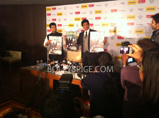 13apr srkfflaunch 30 Shah Rukh Khan launches collector's edition of Filmfare to mark 100 years of Indian Cinema