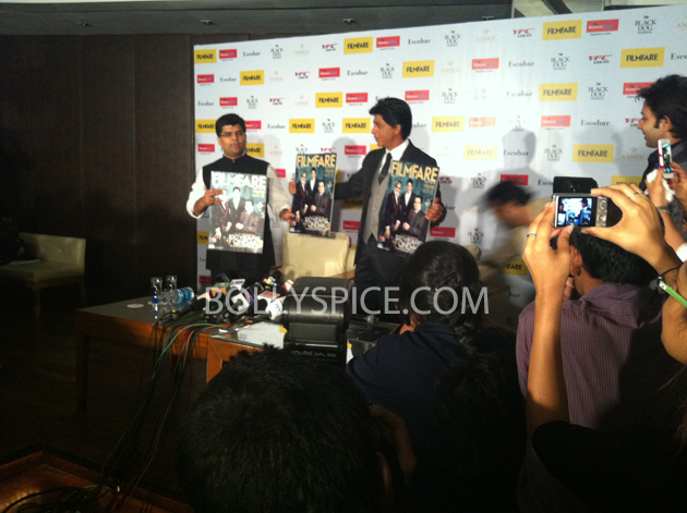 13apr srkfflaunch 33 Shah Rukh Khan launches collector's edition of Filmfare to mark 100 years of Indian Cinema