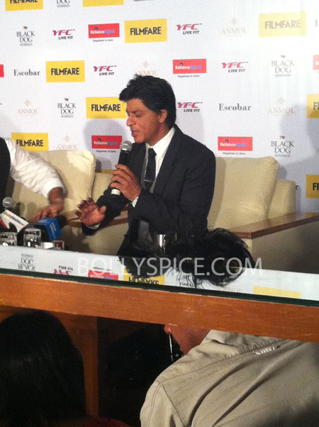 13apr srkfflaunch 38 Shah Rukh Khan launches collector's edition of Filmfare to mark 100 years of Indian Cinema