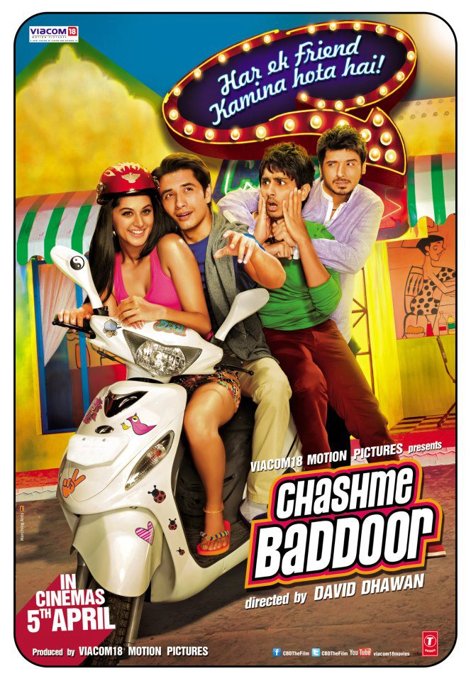 555959 534409506593601 1218665726 n Chashme Baddoor Movie Review
