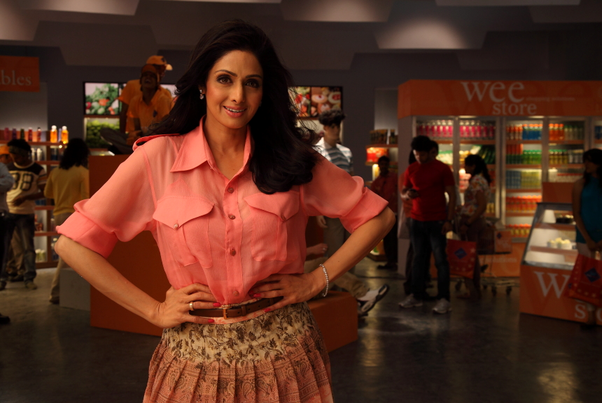 Wee Store brand ambassador Sri Devi Sri Devi to be the brand ambassador of Wee Store