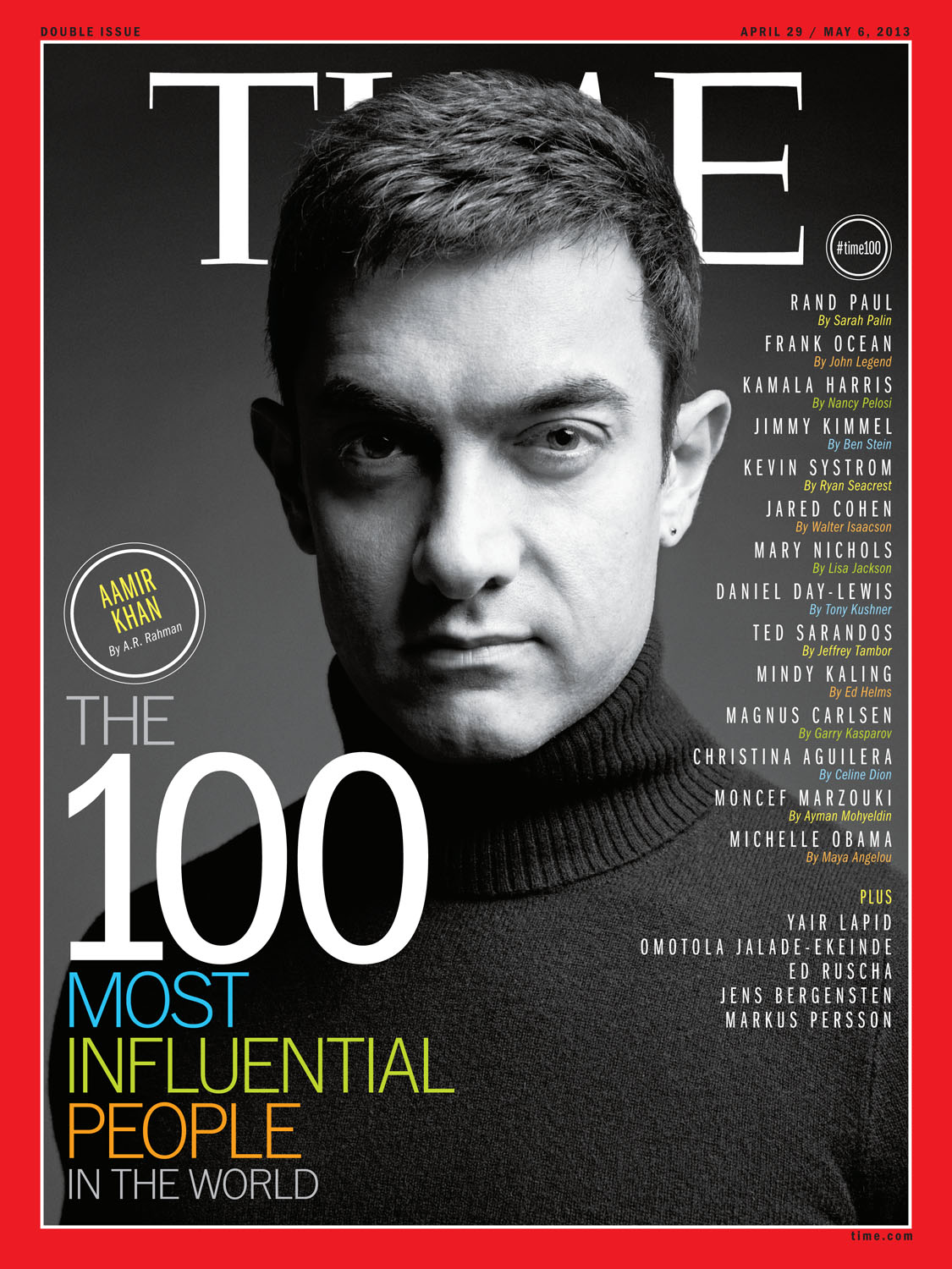 khan2 Aamir Khan on Time Magazines List of 100 Most Influential People in the World!