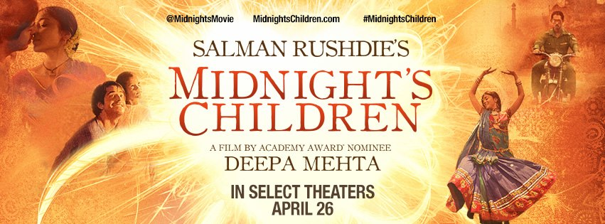 midnightschildren US READERS! WIN Exclusive SIGNED Midnights Children Posters!
