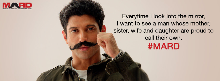 13may Farhan MARDbanner Farhan Akhtar uses digital platforms to support his social initiative M.A.R.D.