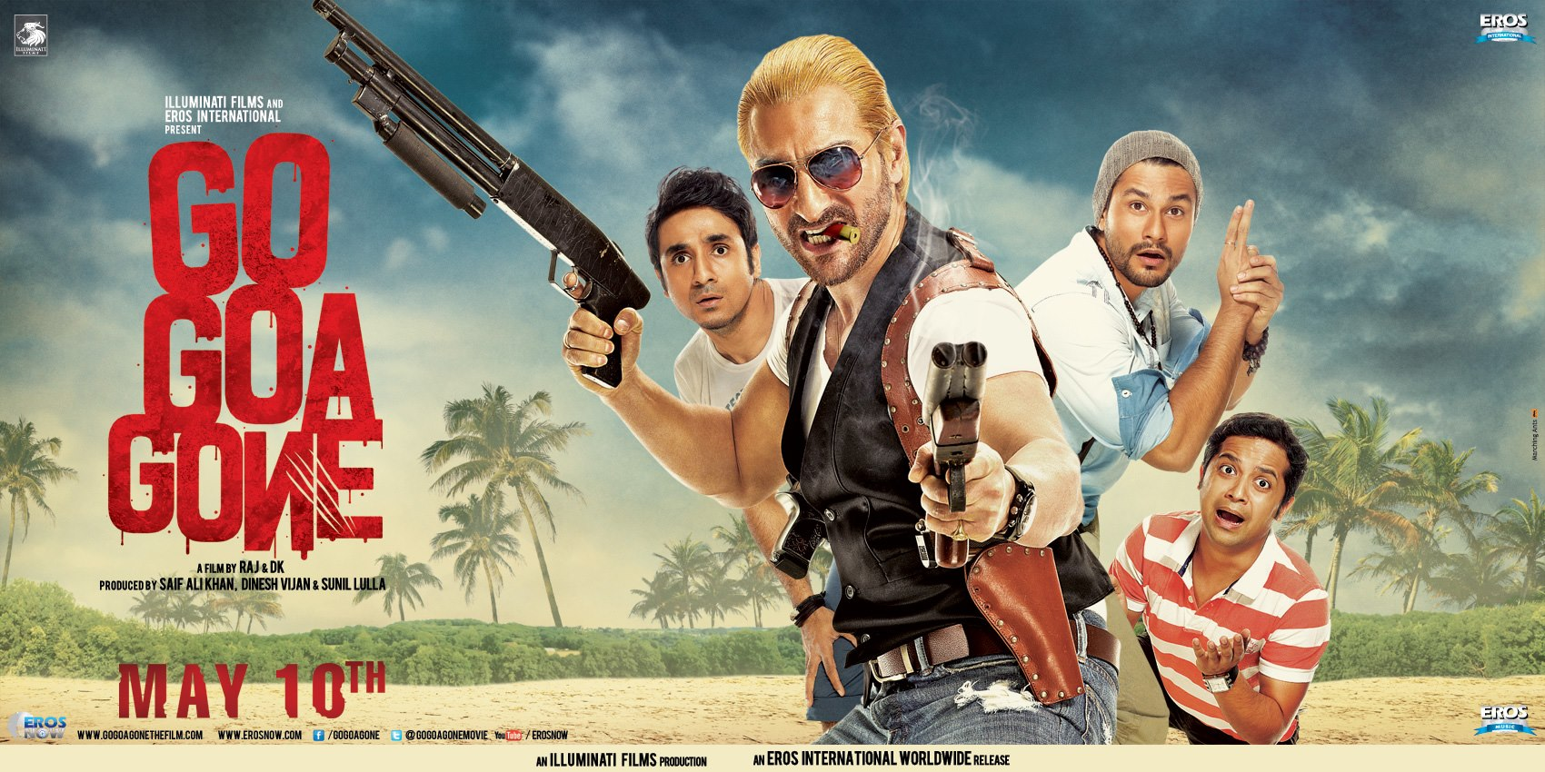 13may GoGoaGone JhaReview A zombie fiesta that's savagely funny and surreptitiously scary...   Subhash K Jha reviews Go Goa Gone