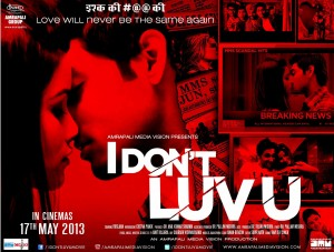 13may IDontLuvU JhaReview 300x227 The film tries to weave a tender gentle love story around an MMS scandal.   Subhash K Jha reviews I Dont Luv U