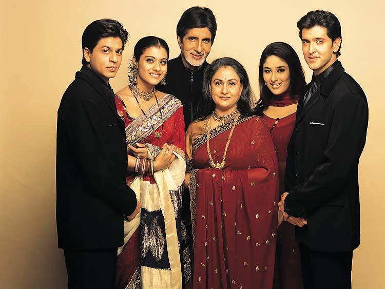 FRAMING MOVIES Take Nine  Kabhi Khushi Kabhi Gham  2001 Kajol In Kabhi Khushi Kabhi Gham