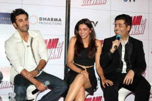 13may KJ RK DP YJHD 300x200 Karan Johar wants Ranbir and Deepika to work again
