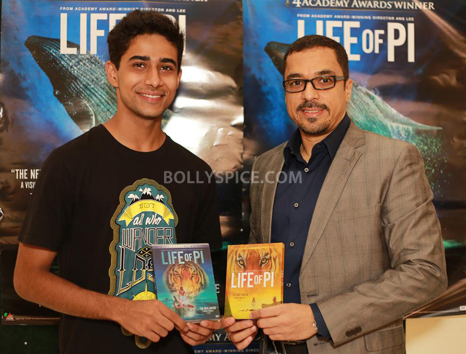 13may Suraj LifeofPiDVD02 Suraj Sharma releases Life of Pi on Home Video