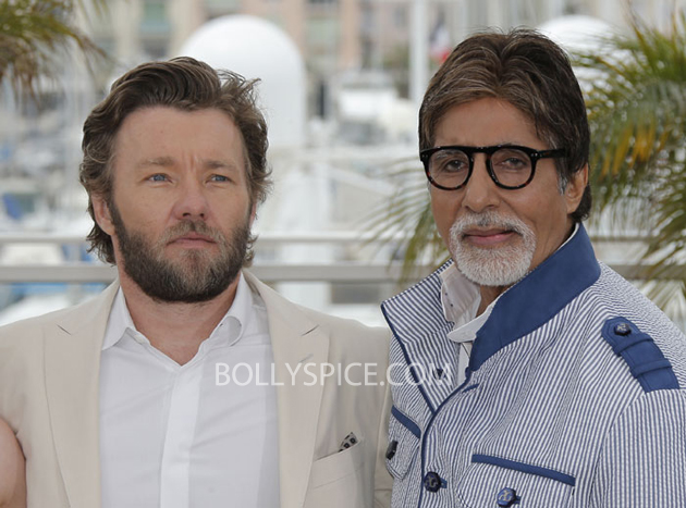13may cannes 01 Cannes 2013: Amitabh Bachchan joins his director and co stars for The Great Gatsby photocall