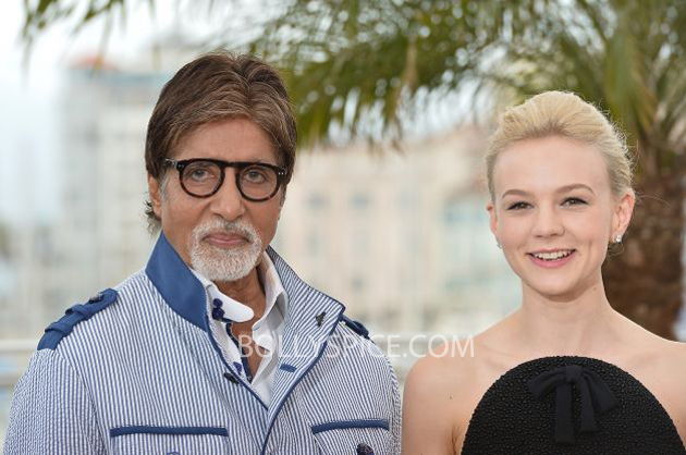 13may cannes 02 Cannes 2013: Amitabh Bachchan joins his director and co stars for The Great Gatsby photocall